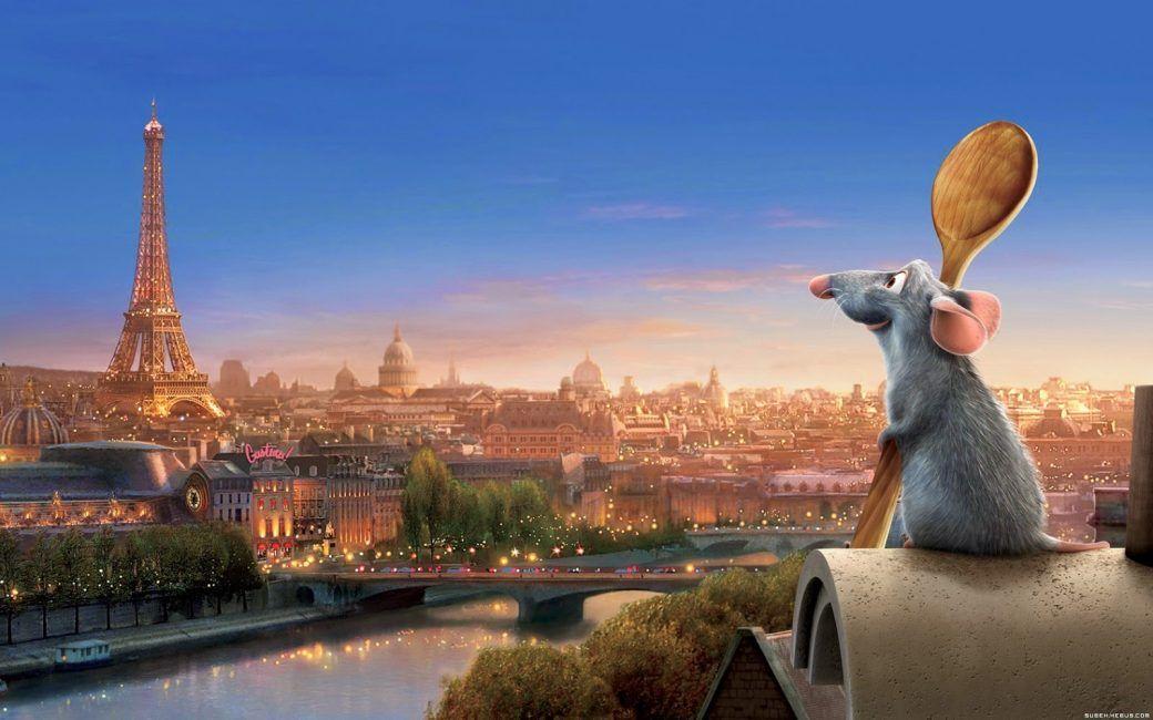 Ratatouille película sobre comida